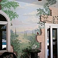 Joel Haynes Art Landscape Mural