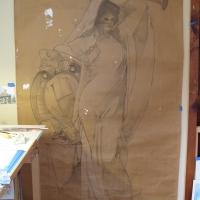 Joel Haynes Art Figure Sketch