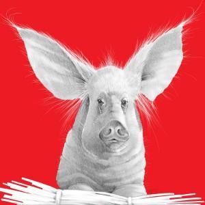 Joel Haynes Animals Squared - Pig