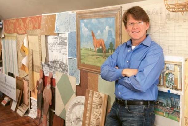 Artist Joel Haynes Brings Fine Art Home